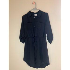 Sienna Sky black dress